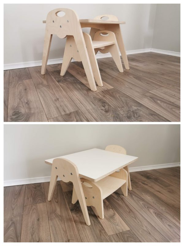 Table and Bench Combo