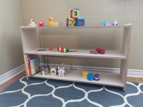 """Toy Shelf Double 45"""""""