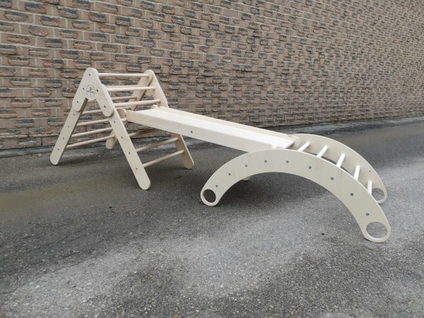 Small Pikler, Ramp & Arch